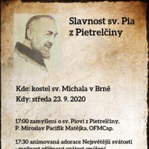 Pozvánka Den O. Pia